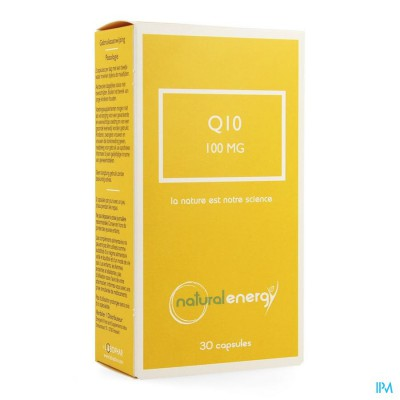 Q10 Energy 100mg Natural Energy Caps 30