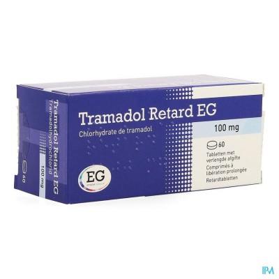TRAMADOL RETARD EG 100 MG TABL 60 X 100 MG