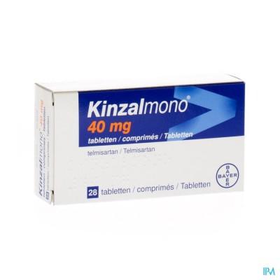 KINZALMONO 40 MG COMP 28 X 40 MG