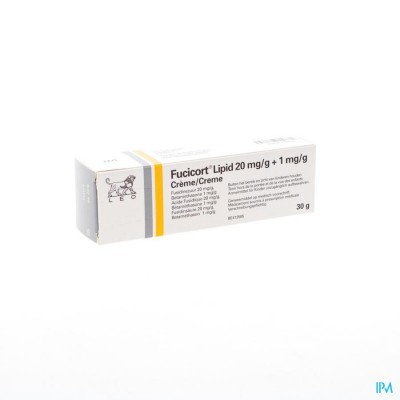 Fucicort Lipid 20mg/g + 1mg/g Creme Tube 30g