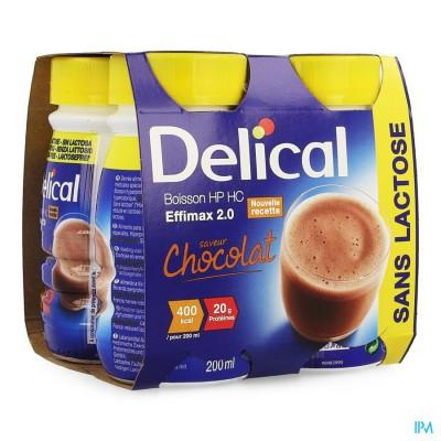 Delical Effimax 2.0 Chocolade 4x200ml