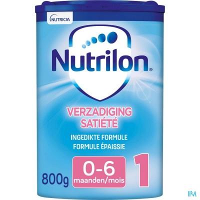 Nutrilon Verzadiging 1 poeder 800g Volledige zuigelingenvoeding