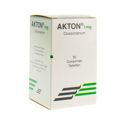 AKTON COMP 50 X 1 MG