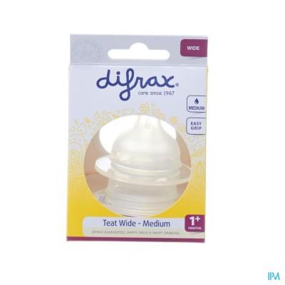 Difrax Flessenspeen Natural Wide Medium 676