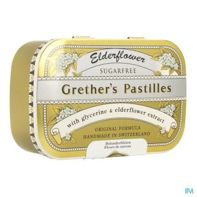 Grether's Elderflower Vlierbes-vruchtensap Zs 110g
