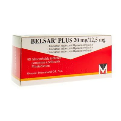 BELSAR PLUS 20 MG/12,5 MG FILMOMH TABL 98