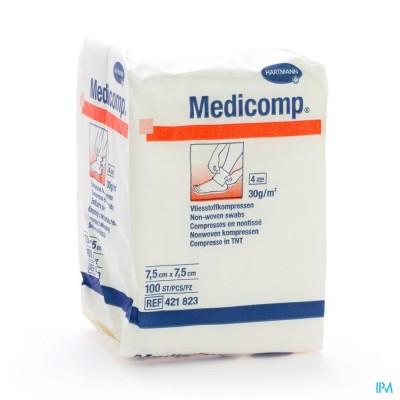 MEDICOMP KP N/ST 4PL 7,5X7,5CM 100 4218237