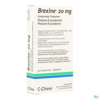 Brexine Chiesi Comp 30 X 20mg