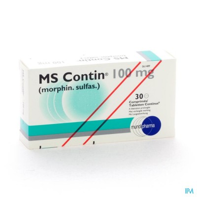 Ms Contin Comp 30x100mg