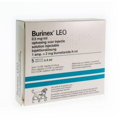 BURINEX LEO AMP 5 X 2 MG/4 ML