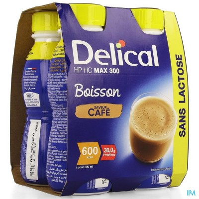 Delical Max 300 Koffie 4x300ml