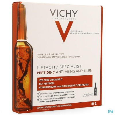 Vichy Liftactiv Amp 10x1,8ml