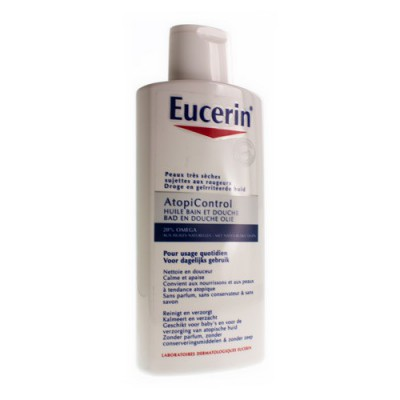 EUCERIN ATOPICONTROL BAD & DOUCHE OLIE 400ML