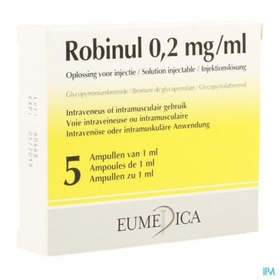 ROBINUL AMP. 5X1ML