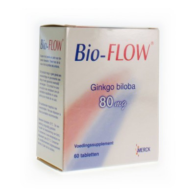 BIO FLOW TABL 60X 80MG