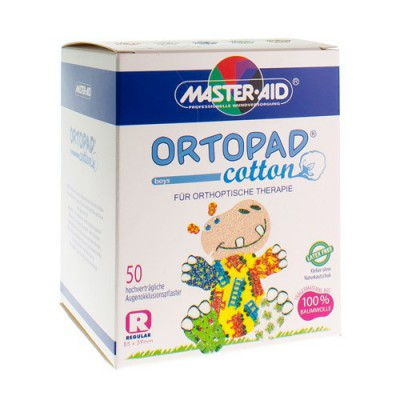 ORTOPAD COTTON REGULAR BOYS OOGPLEISTER 50 70174