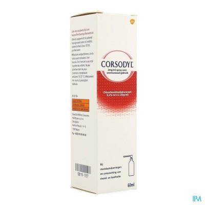 Corsodyl 2mg/ml Spray
