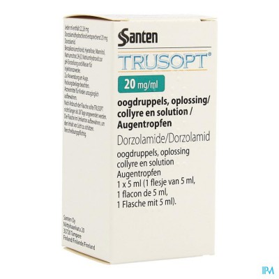Trusopt Ocumeter Plus 20mg/ml Collyre Sol 5ml