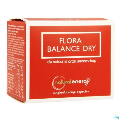 Flora Balance Natural Energy Dry V-caps 30