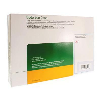 BYDUREON 2MG VOORGEVULDE PEN 1X(4X1)