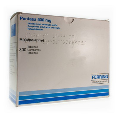 PENTASA COMP 300X500MG
