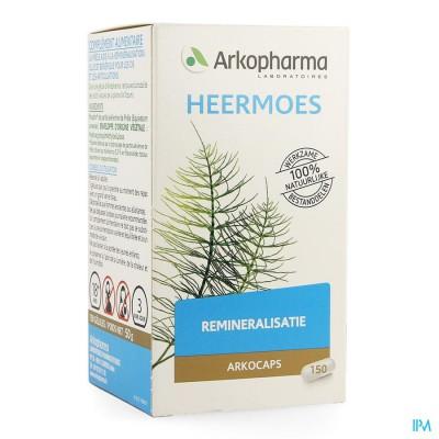 Arkocaps Heermoes Plantaardig 150