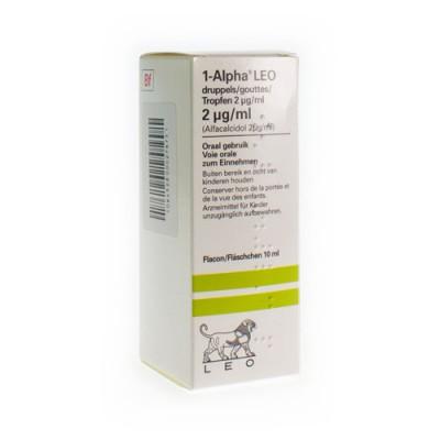 ALPHA-1 GUTT 10 ML 2 UG/ML