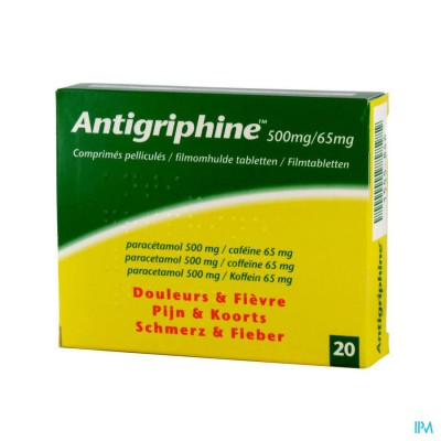 Antigriphine Comp 20 X 500mg