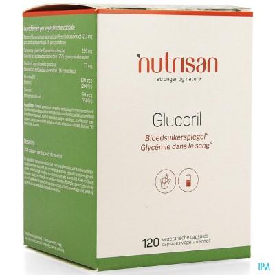 GLUCORIL CAPS 120 NUTRISAN
