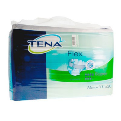 TENA FLEX SUPER MEDIUM 71-104CM 30 724230