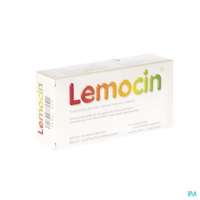 Lemocin Zuigtabl 50