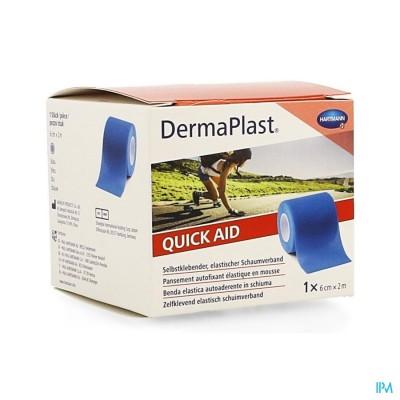 Dp Quickaid 6cm X 2m,blauw 1 P/s