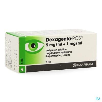 Dexagenta Pos Collyre 5ml