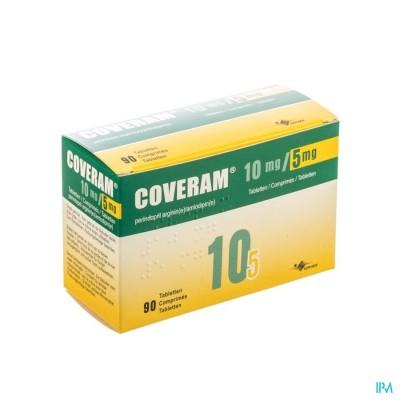 COVERAM 10MG/ 5MG COMP 90