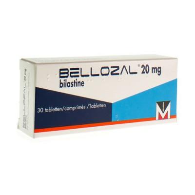 BELLOZAL 20 MG FILMOMH TABL 30 X 20 MG