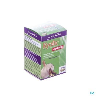 MANNAVITA KYOLIC + LECITHINE CAPS 75