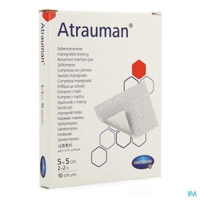 Atrauman 5x5cm St. 10 P/s