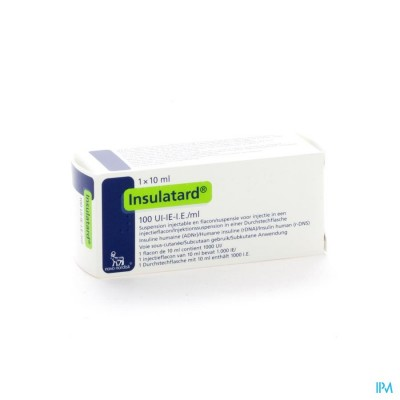 Insulatard 100 Iu/ml 1 X 10ml