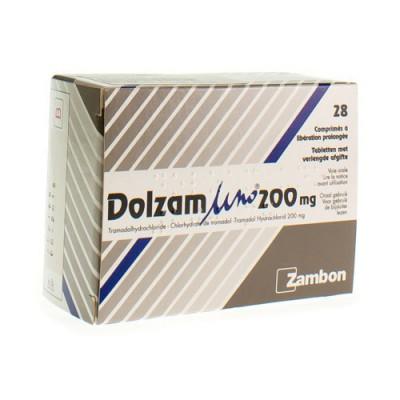 DOLZAM UNO 200 TABL 28 X 200 MG