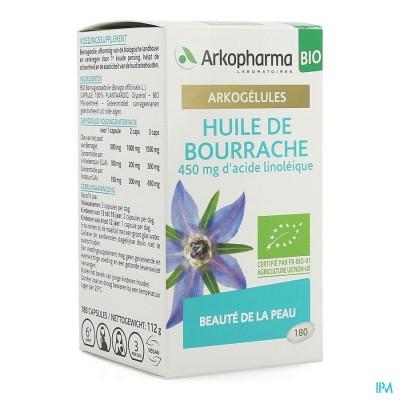 Arkocaps Bernagieolie Bio Caps 180