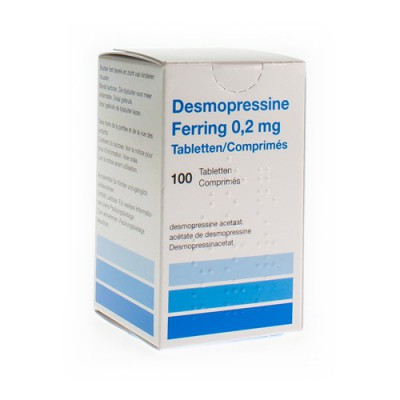 DESMOPRESSINE FERRING TABL 100 X 0,2 MG
