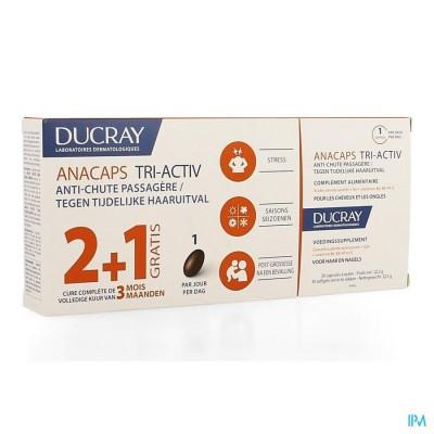 Ducray Anacaps Trio Tri-activ Caps 3x30