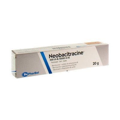 NEOBACITRACINE NF POMM. DERM. 20 G