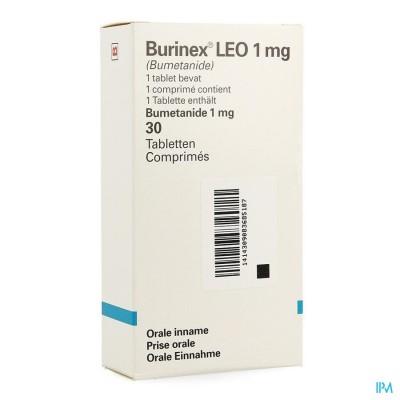 BURINEX LEO COMP 30 X 1 MG