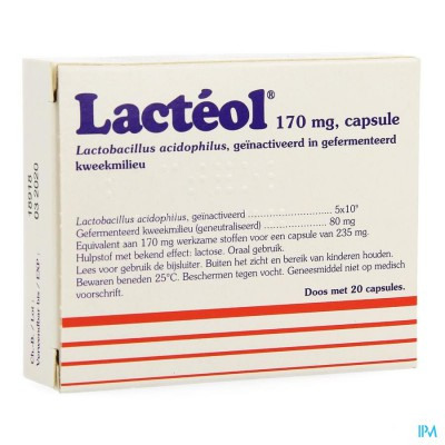 LACTEOL CAPS. 20