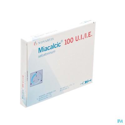 Miacalcic 100 Amp Ser 5 100ui/1ml