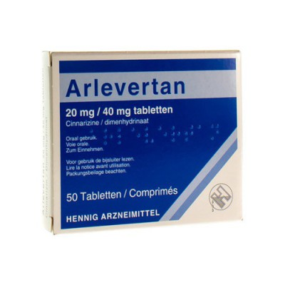 ARLEVERTAN KELA 20 MG/40 MG TABL 50