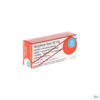Morphine Teva 30 Comp 30x 30mg