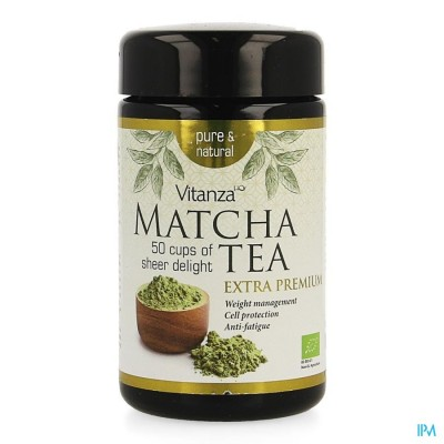 Vitanza Hq Extra Premium Matcha Tea Pdr 50g