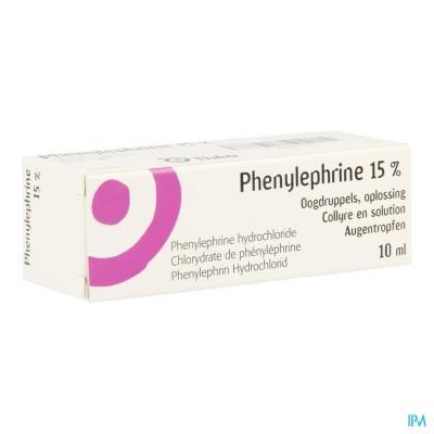 Phenylephrine Collyre 10ml 15%